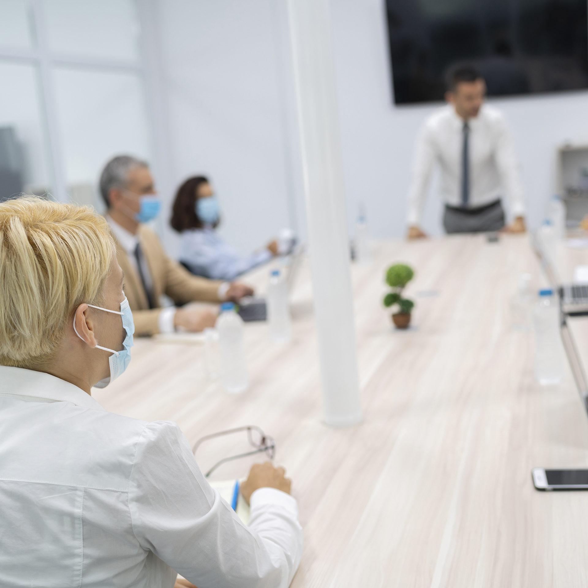 Rondetafel gesprek tijdens meeting