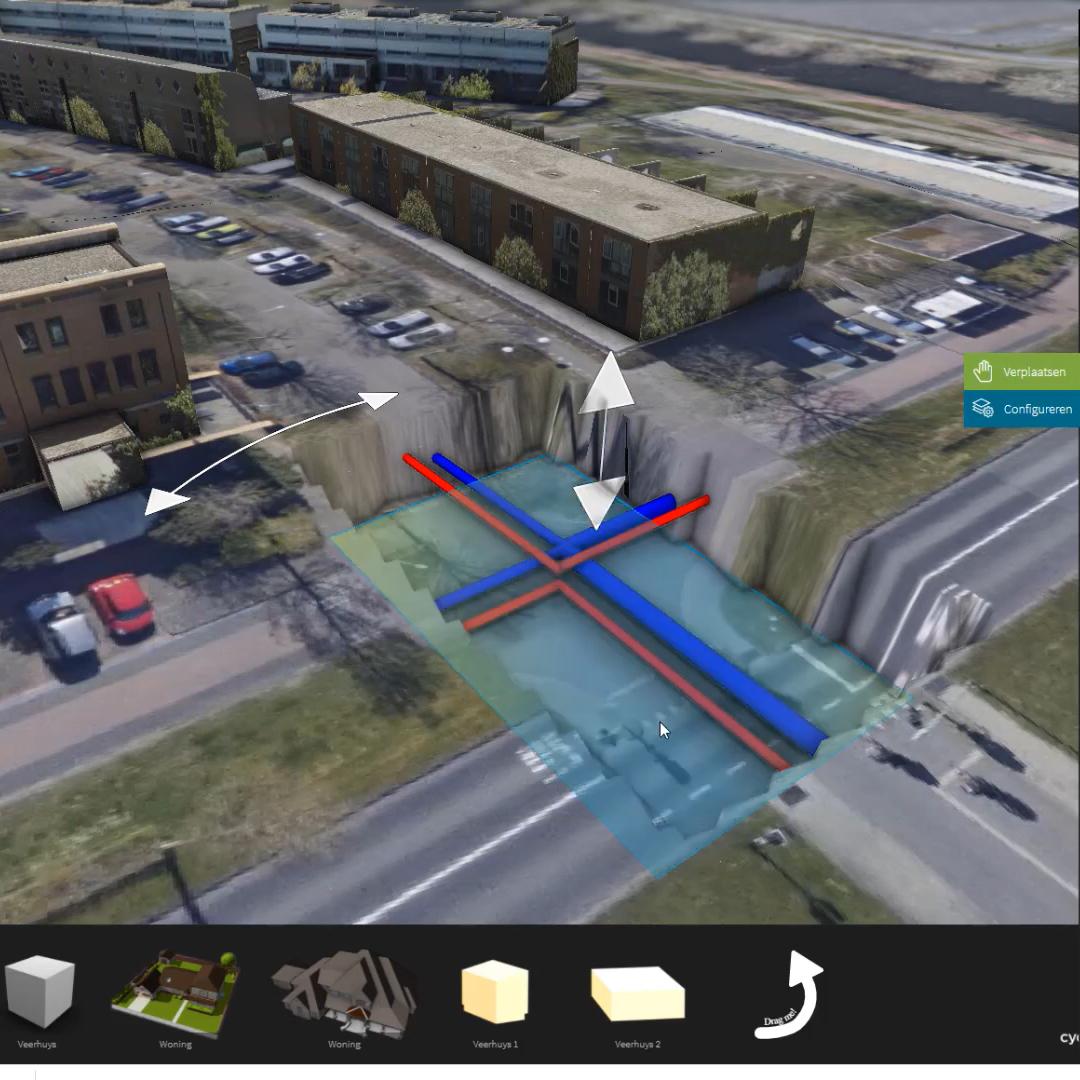 3D City en ondergrondse mogelijkheden